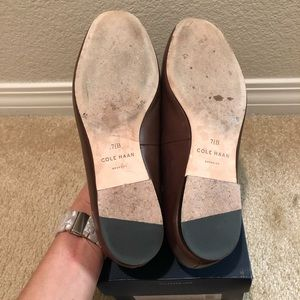 Cole Haan Shoes - Cole Haan woven leather Dakota loafers